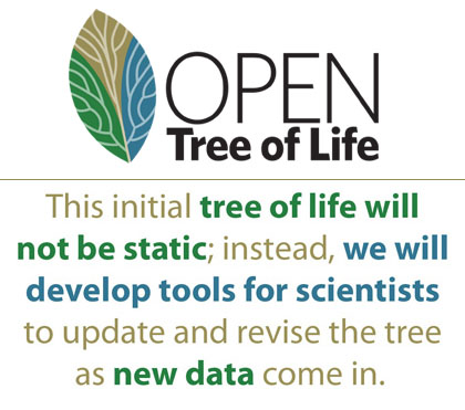The tree and tools will motivate data sharing and facilitate ongoing synthesis of knowledge.